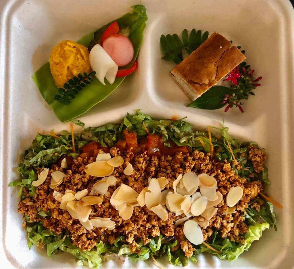 松尾「浮島ガーデン」県産無農薬野菜を使ったイタリアンをテイクアウト!